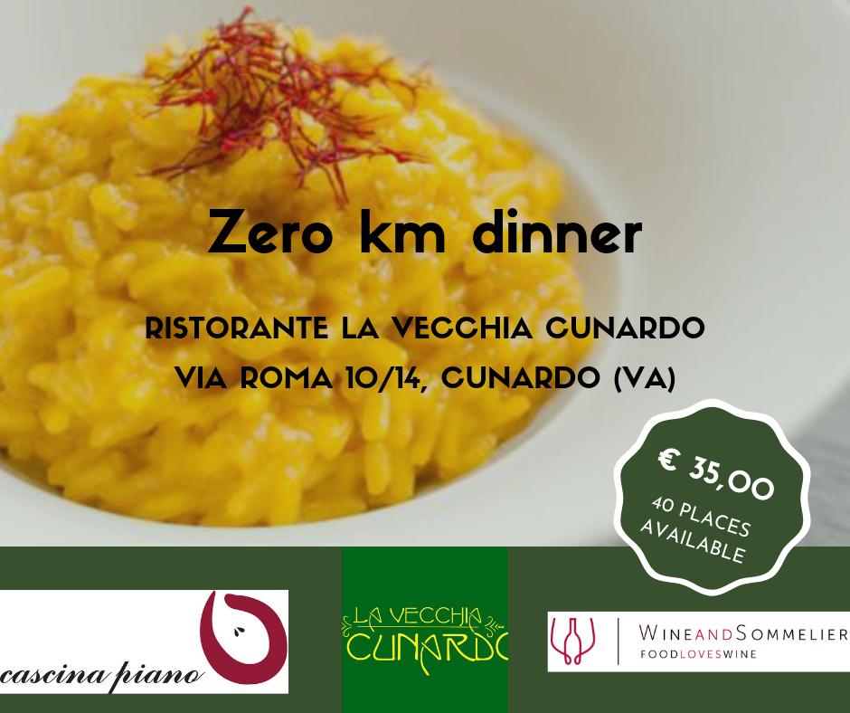 Zero km dinner